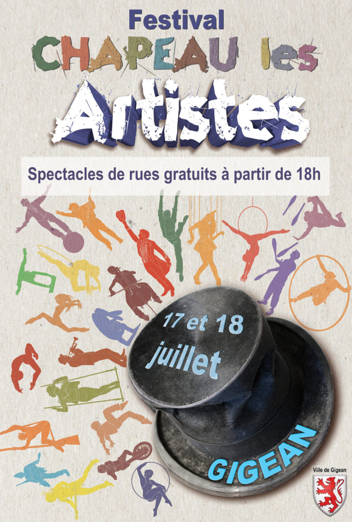 Affiche Chapeau les Artistes 2019